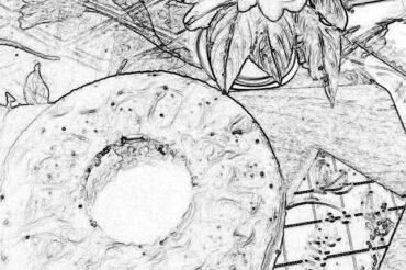 Czekoladowa babka z polewą miętową