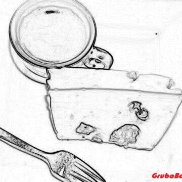 Bakaliowy sernik na zimno
